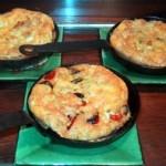 tortillas individuelles, omelettes soufflées