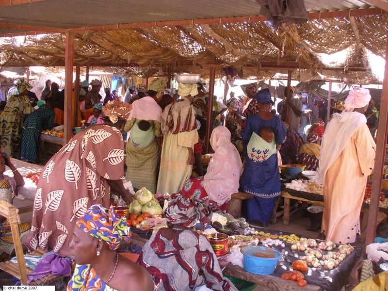 marché en Afrique