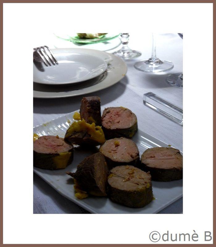 foie gras à la mangue