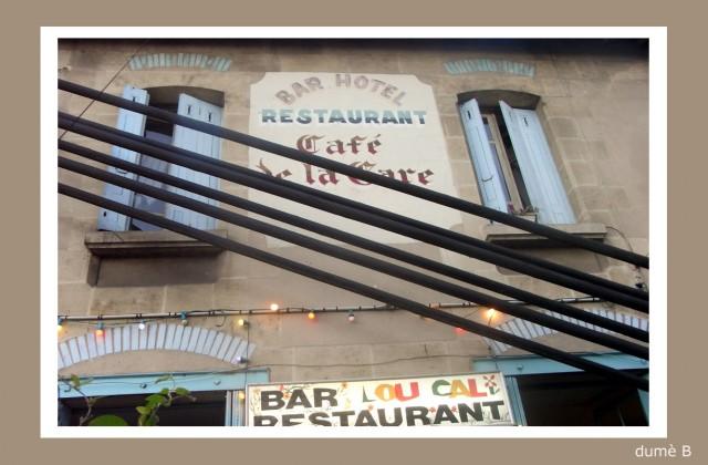 café de la gare à La Réole