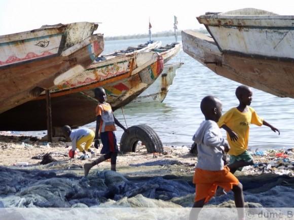 pirogues au Sénégal