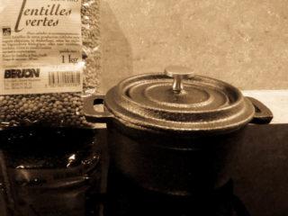 lentilles & cocotte