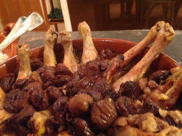 poulet aux marrons