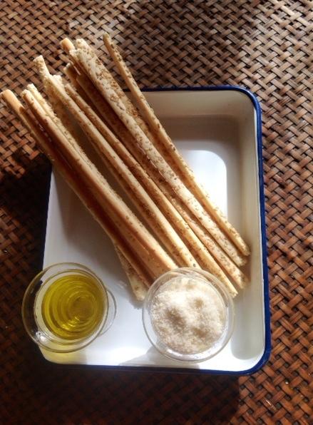 recette des gressins de Lili