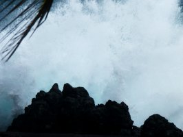 la mer déchaînée