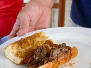 sandwich de cerf à la caldoche