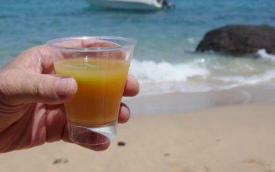 Cocktail au bord de l'eau
