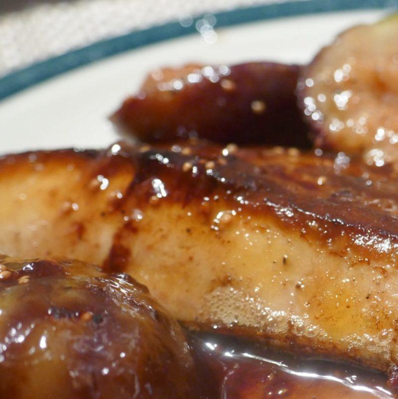 Foie gras poêlé aux figues fraîches