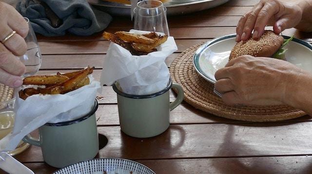 frites maison au four