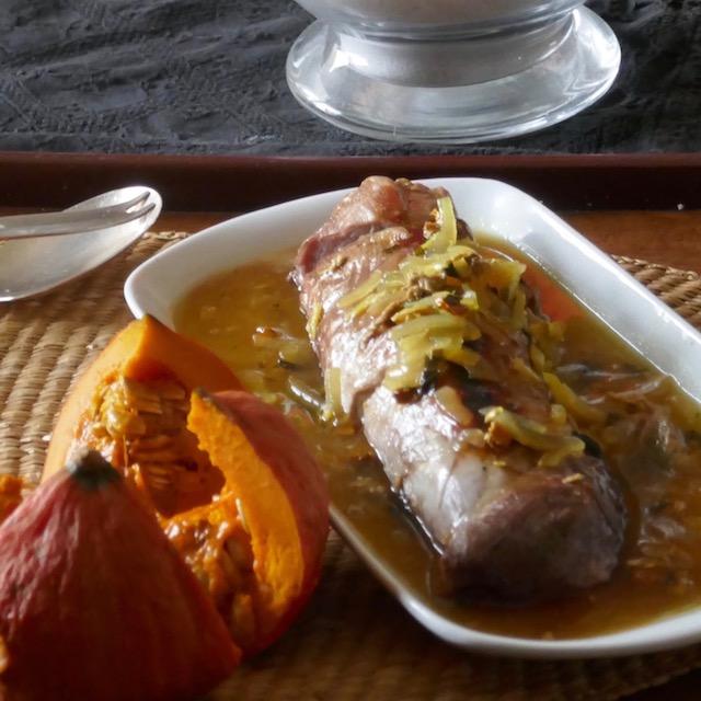filet mignon aux saveurs asiatisantes & cuisson douce