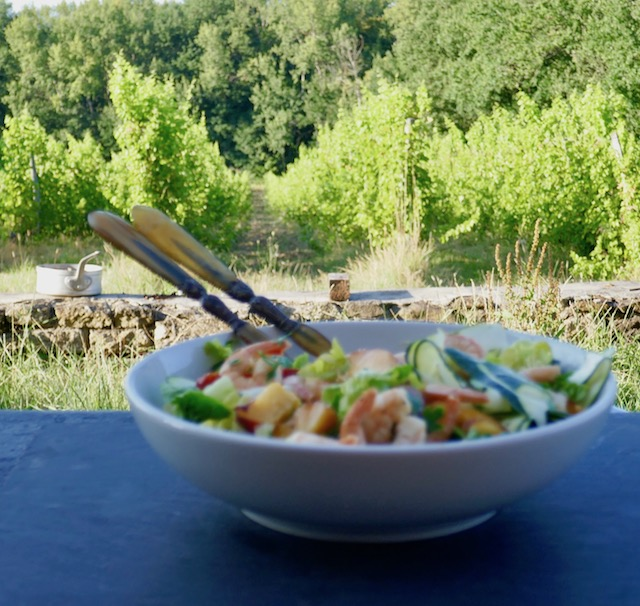 salade fruits et légumes