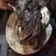 Carcasse de canard grillée