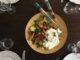 Salade de fin d'été : nectarines, tomates, burrata